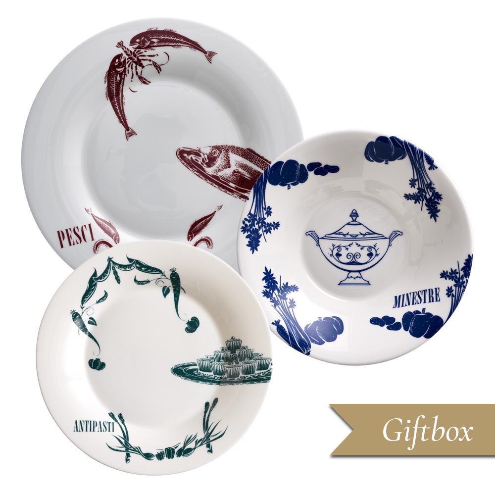 Set 3 pezzi B in Giftbox GCV | Vintage | La Cucina Italiana