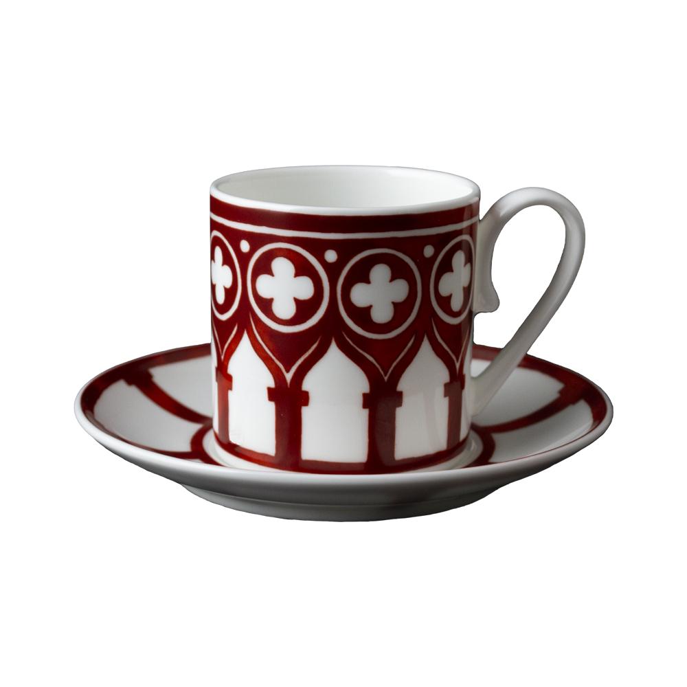 Tazzina caffè con piattino | Le loze dei bei palassi | Venezia 1600