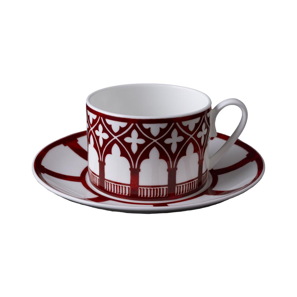 Tazza tè con piattino   Le loze dei bei palassi   Venezia 1600