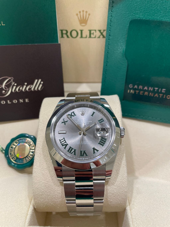 Rolex Datejust 126300  41 Wimbledon