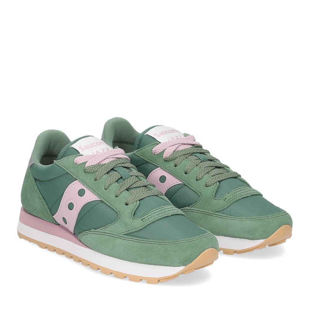 Saucony Jazz Original green pink