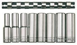 Serie bussole poligonali lunghe con attacco 1/2