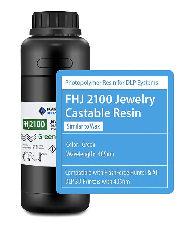 Flashforge Resin Jewellery FHJ 2100