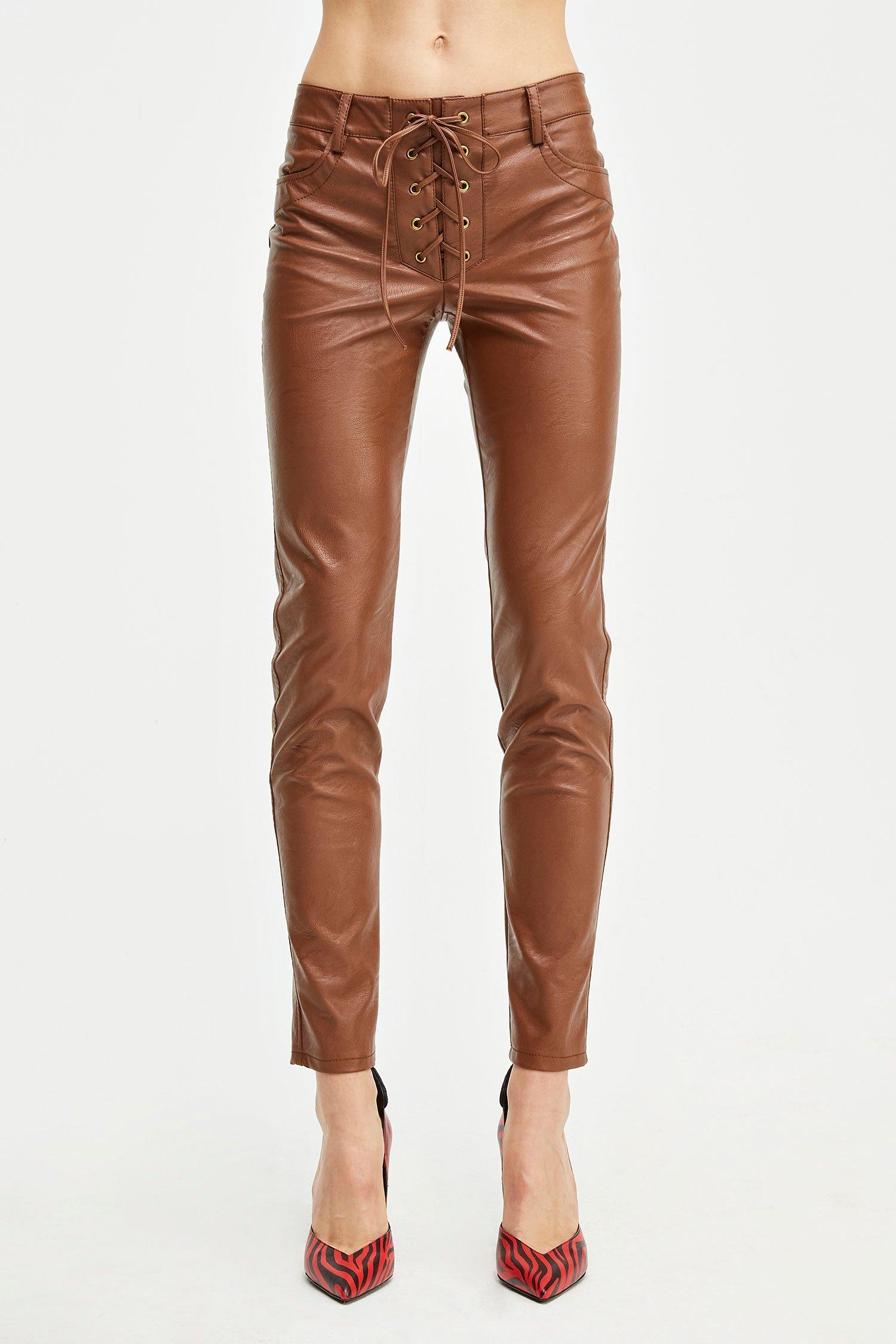 Pantaloni Wendy Pants cacao Aniye By