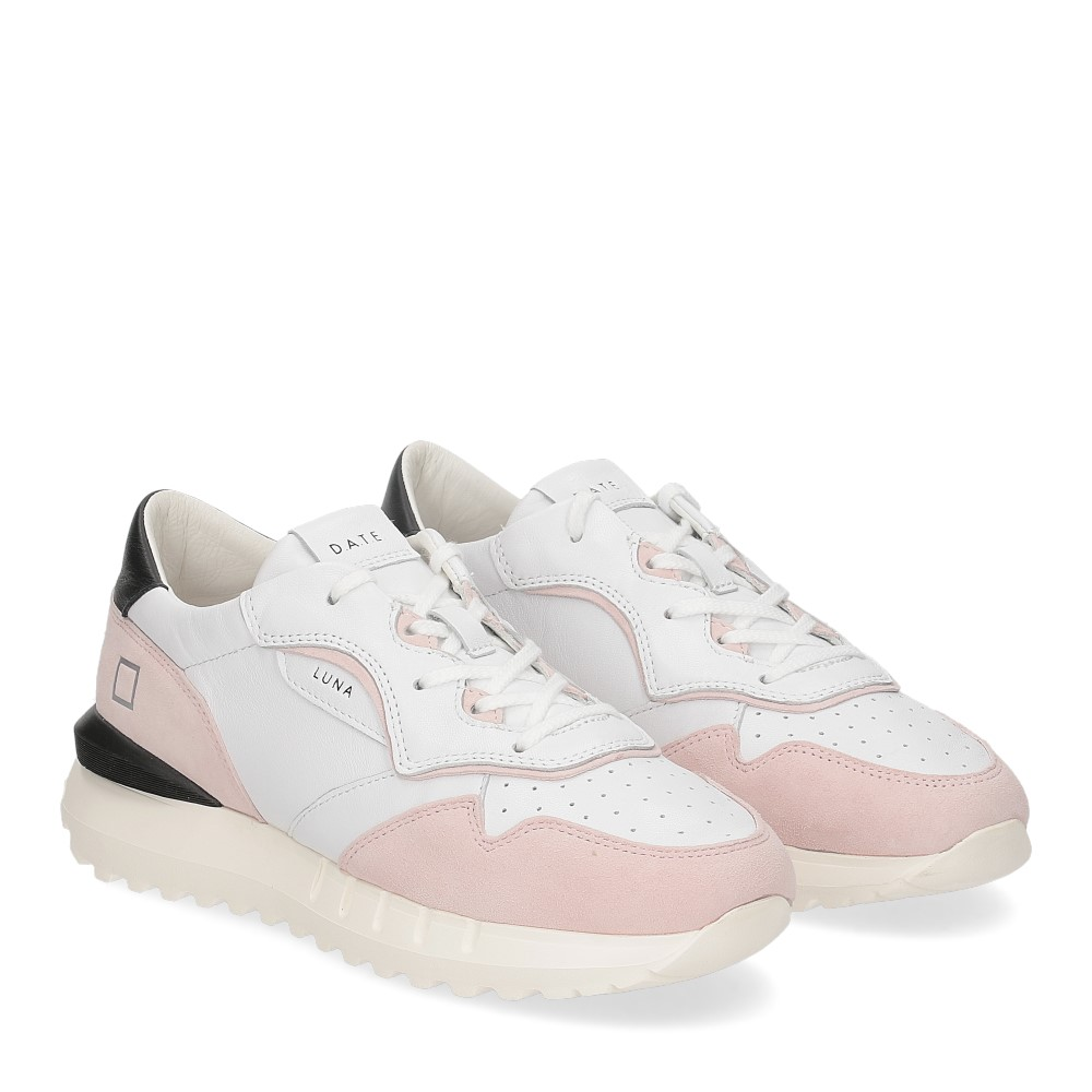 D.A.T.E. Luna white pink