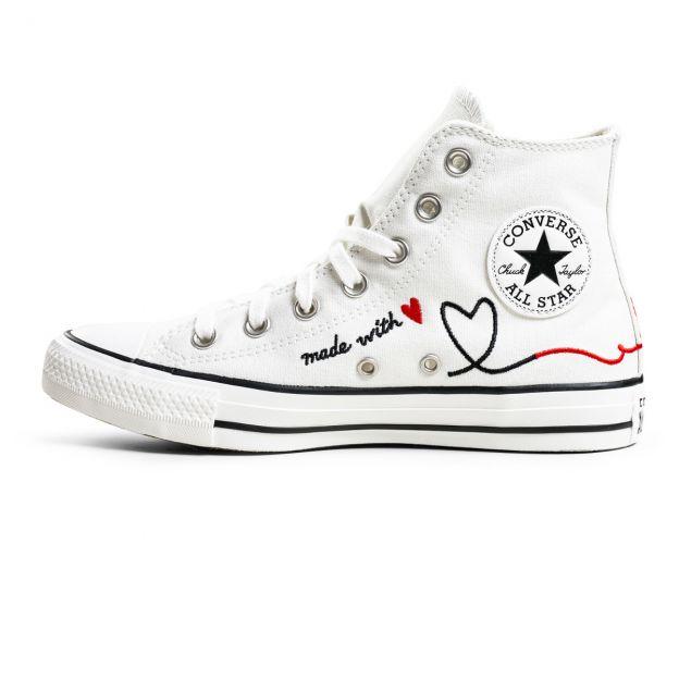 scarpe donna CONVERSE CHUCK TAYLOR ALL STAR HI VINTAGE VALENTINE'S DAY