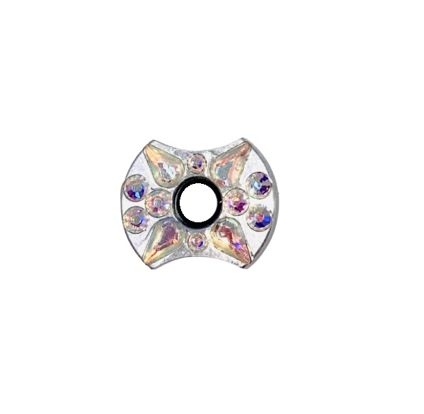 Silver Cosmo Flower SN19
