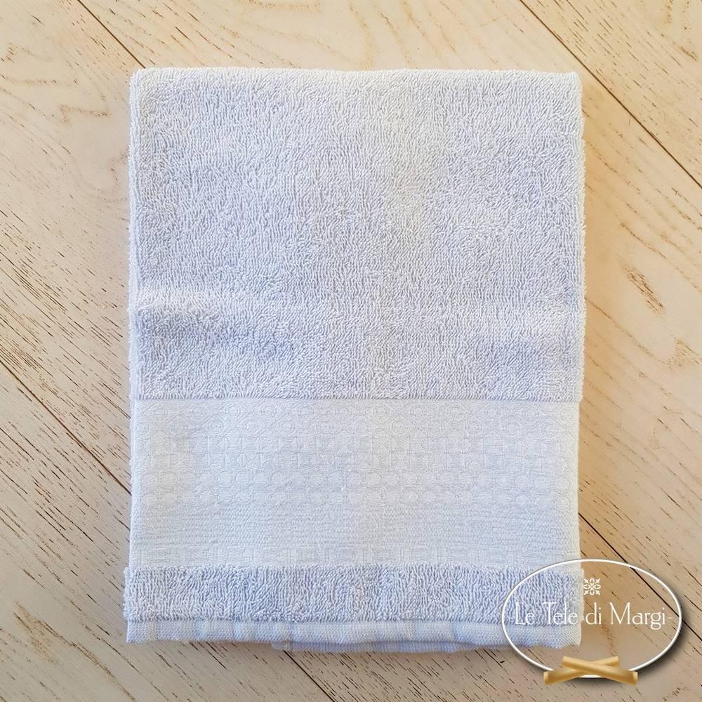 Telo doccia piedipull geometrico grigio polvere