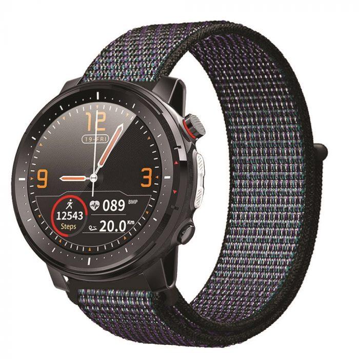 Orologio smartwatch multifunzione unisex, Smarty. Collezione ROUND. Codice SW015G.