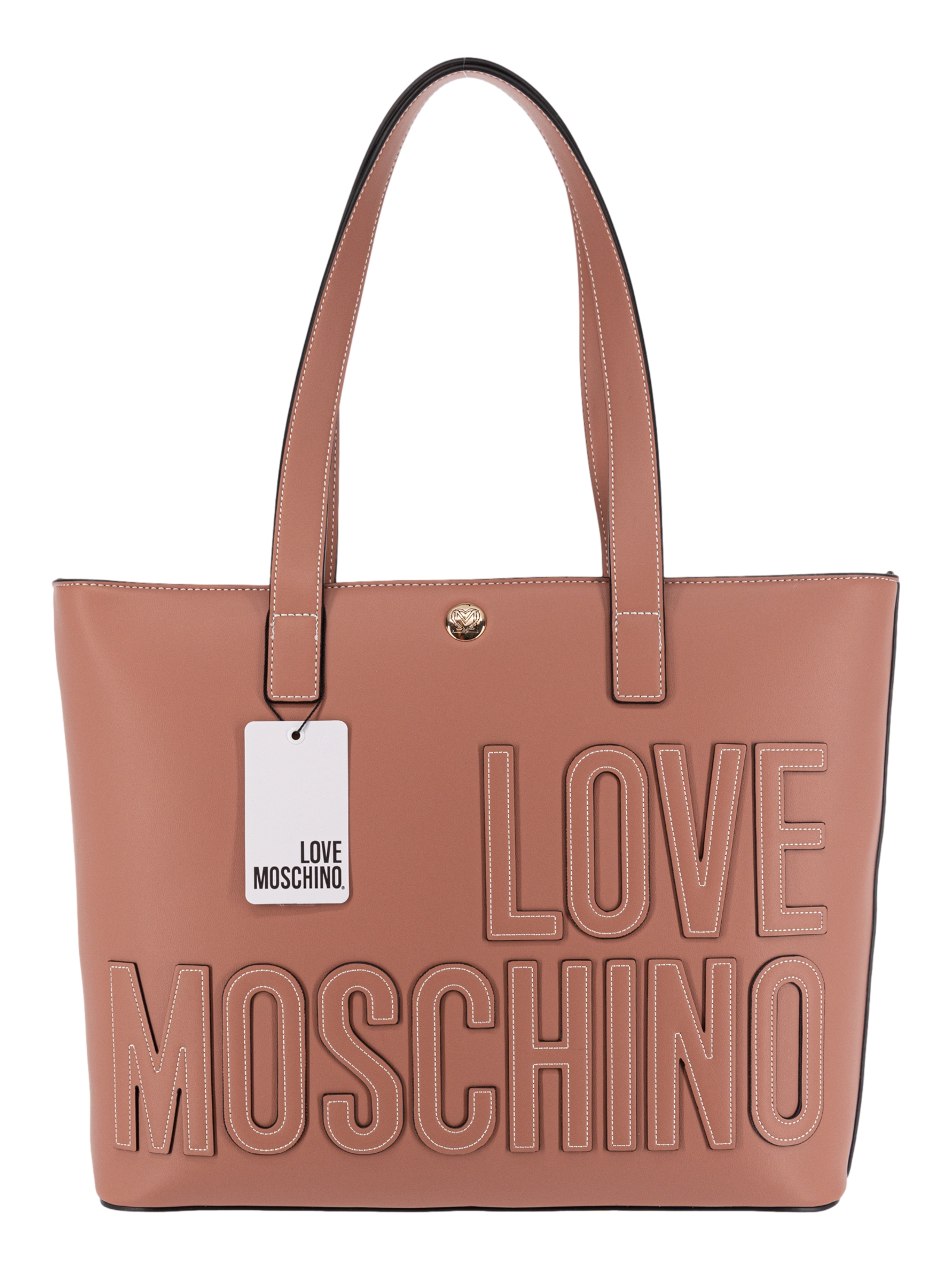 Love Moschino Borsa Shopping Rosa Antico