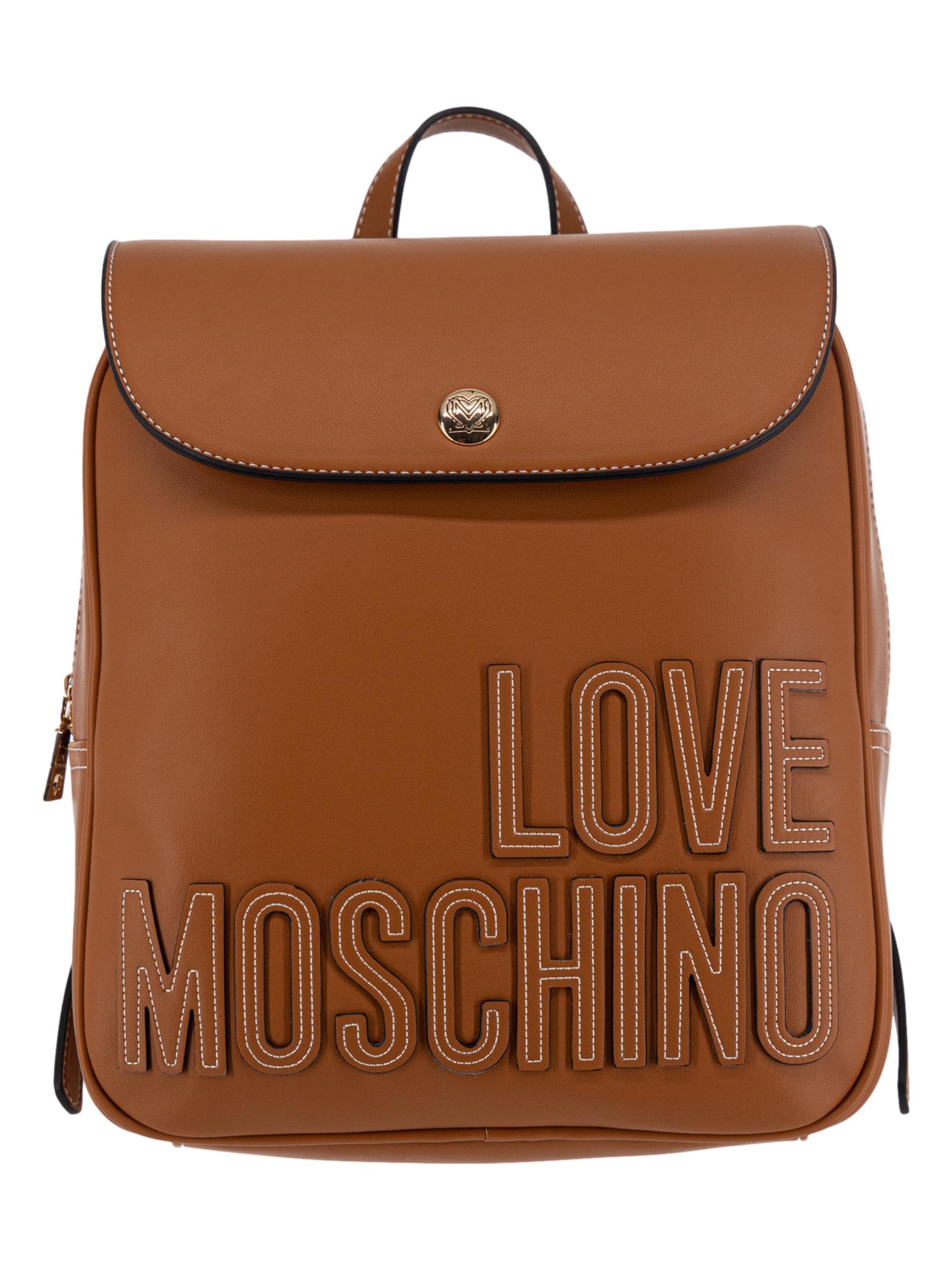 Love Moschino Borsa Zaino Donna Biscotto