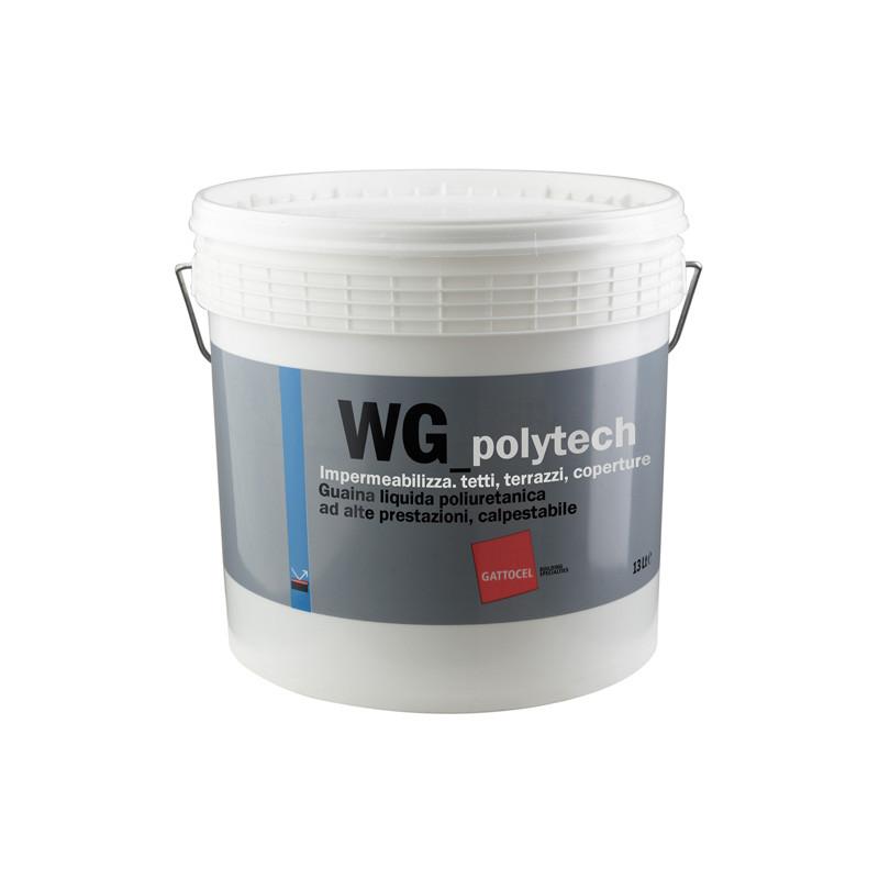 Guaina Liquida Poliuretanica ad Alte Prestazioni Calpestabile WG Polytech