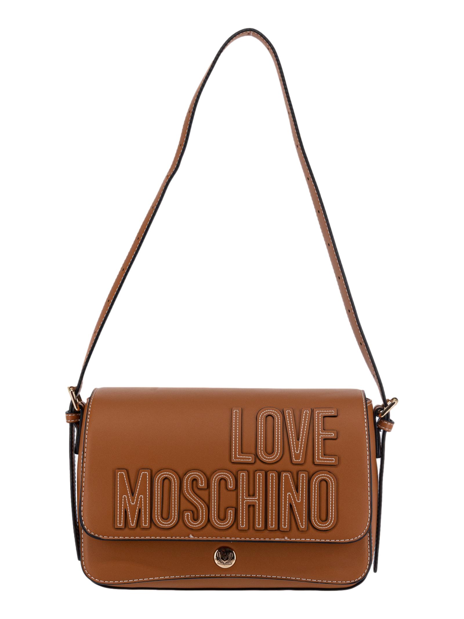 Love Moschino Borsa a Tracolla Donna Biscotto