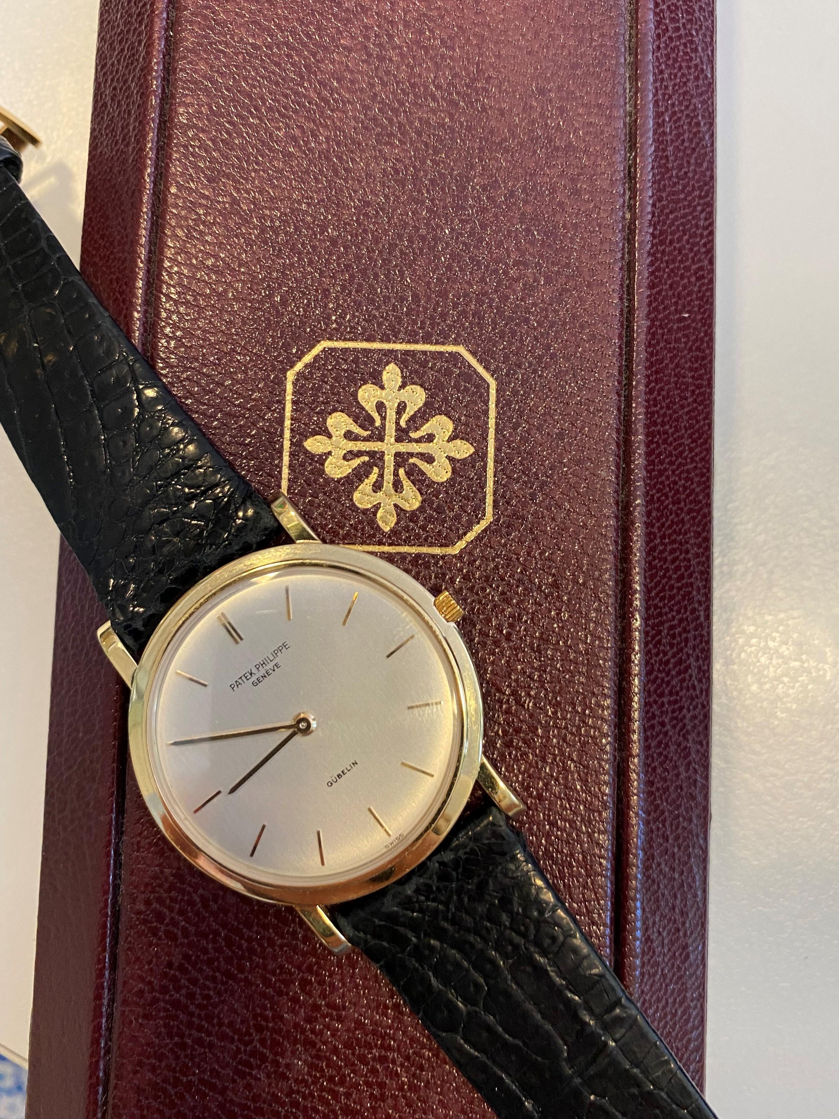 Orologio secondo polso Patek Philippe modello Gubelin