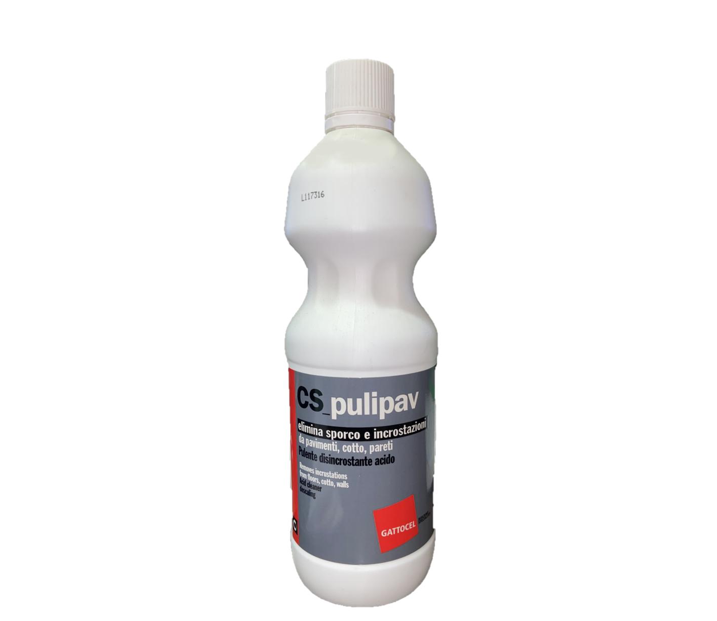 Pulente Acido CS Pulipav GATTOCEL 1lt