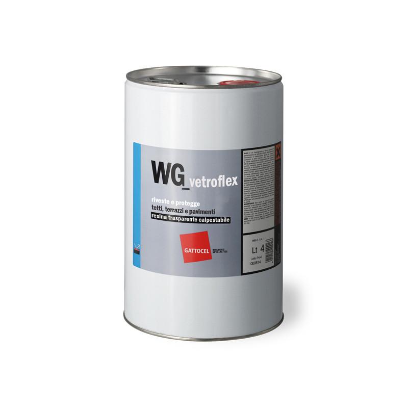 WG-Vetroflex Nanoguaina Trasparente Calpestabile 4lt