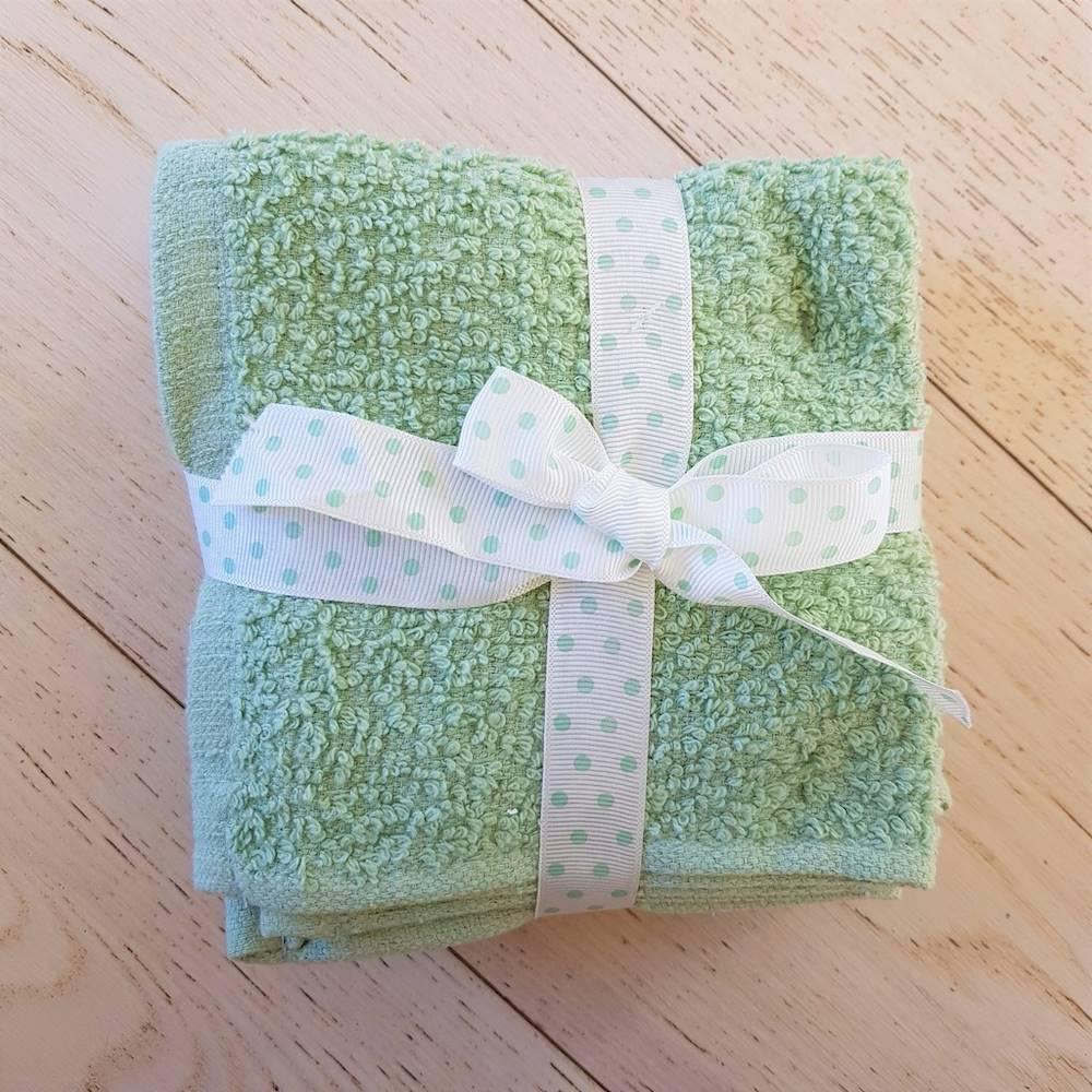 Set 5 lavette chicco di riso verde