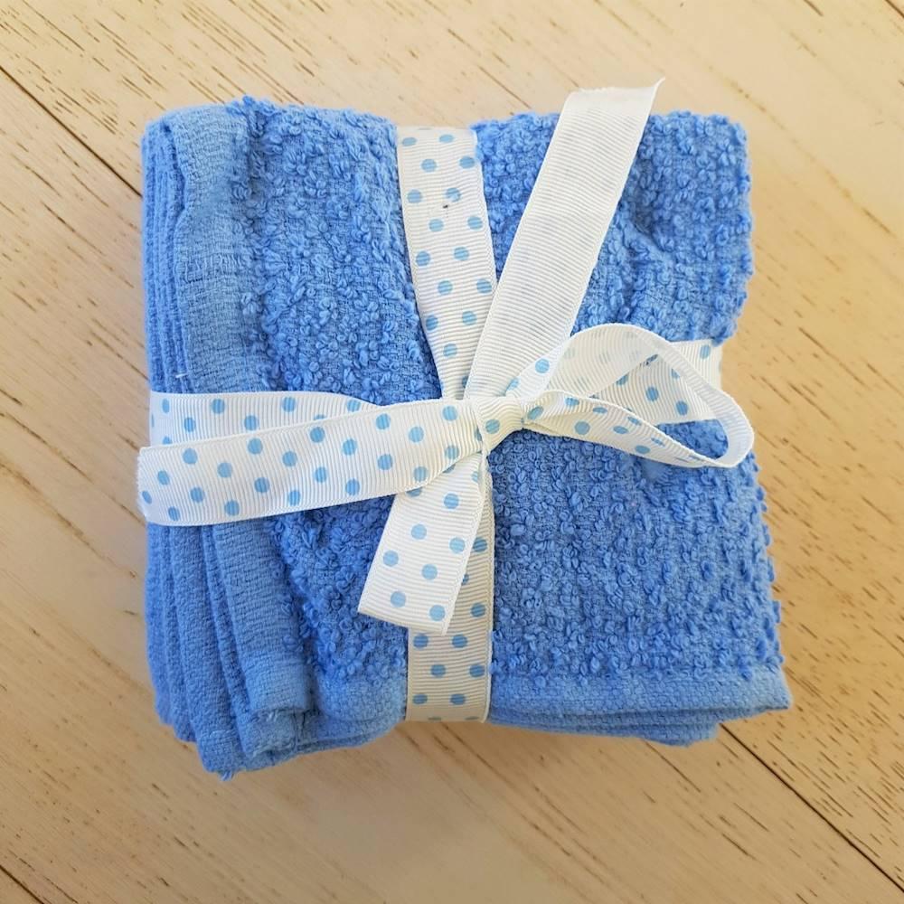 Set 5 lavette chicco di riso azzuro