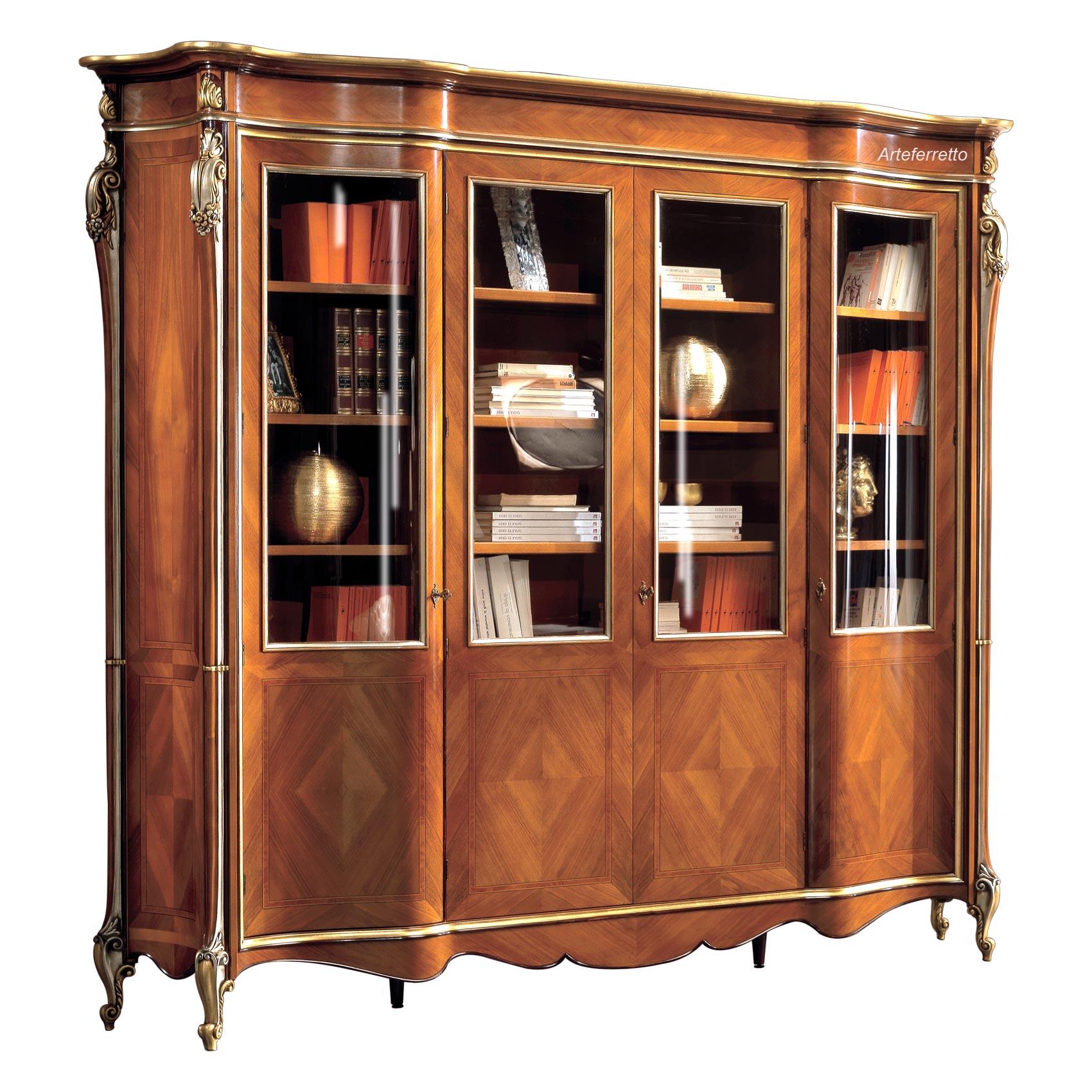 Elegantes Bücherregal