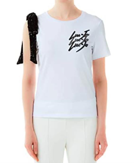 T-shirt con fiocco - LIU JO