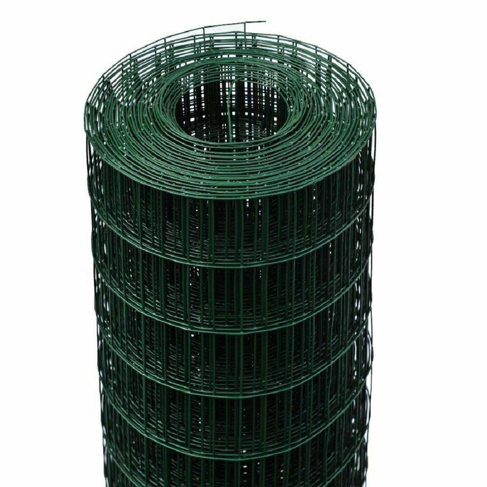 RETE RECINZIONE ELETTROSALDATA PLASTIFICATA MM 50X75 H 1,50X25ML