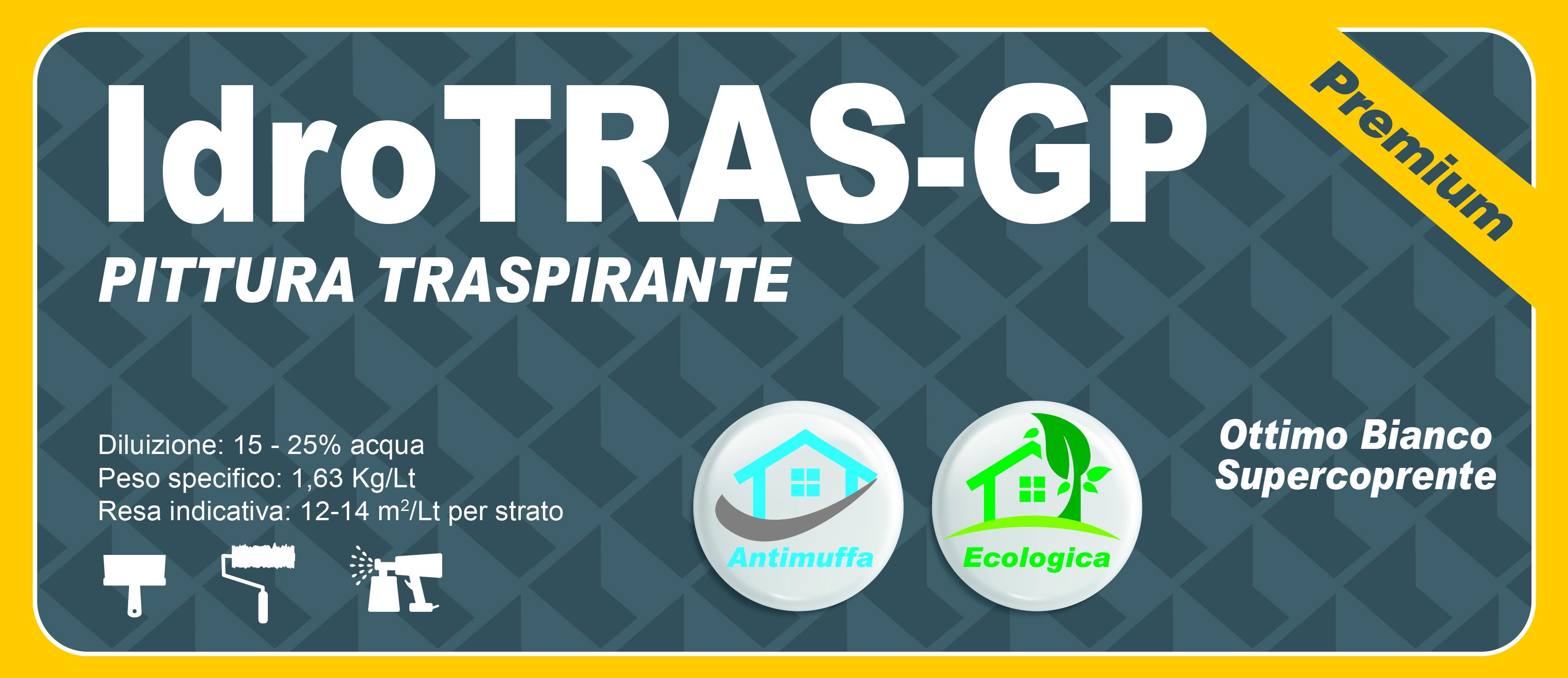 TRASPIRANTE PREMIUM - IdroTRAS-GP - 2,5 LT