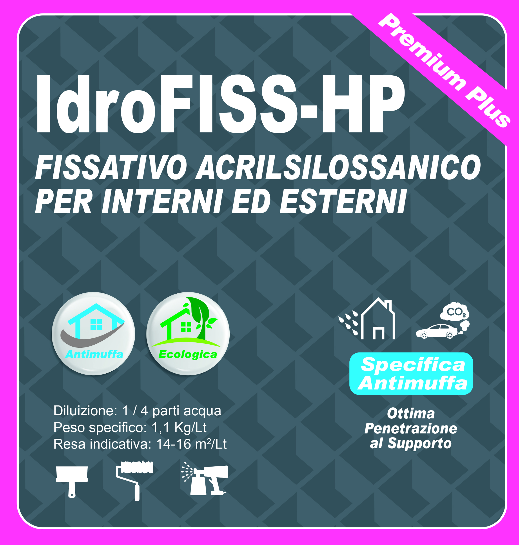 FISSATIVO ACRILSILOS. INT. EST. PREMIUM PLUS - IdroFISS-HP 5 LT