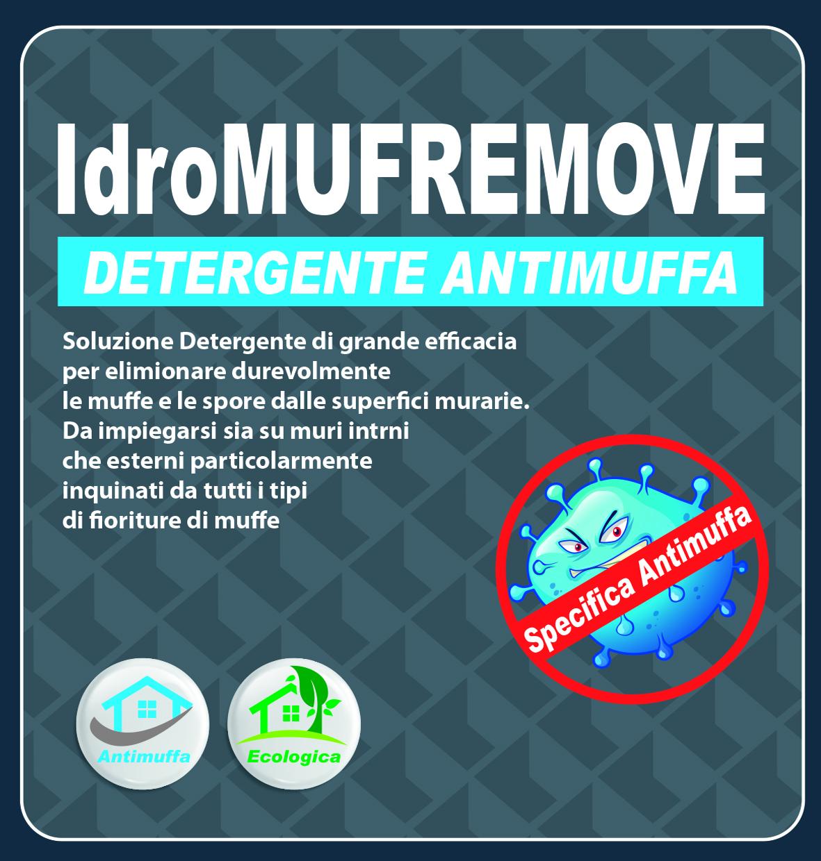 DETERGENTE ANTIMUFFA - IdroMUFREMOVE - 1 LT