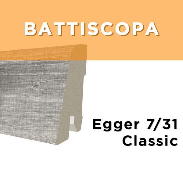 BATTISCOPA MDF ROVERE BARDOLINO GRIGIO 80 x 2400 x 14 mm