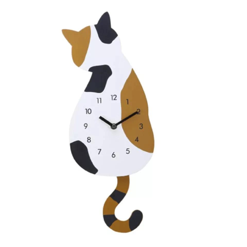 Orologio Gattone con coda pendolo