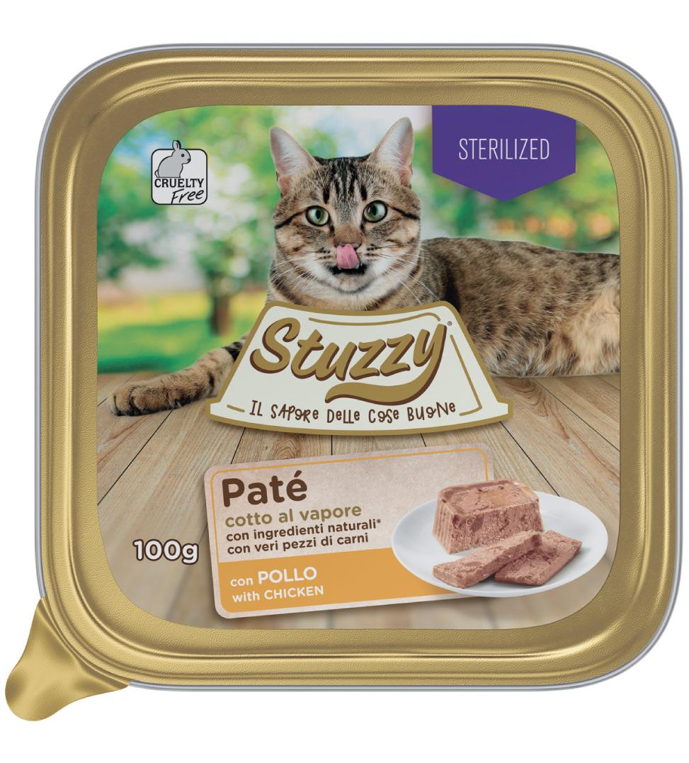 Stuzzy Cat - Patè - Sterilizzato - 32 vaschette 100 g