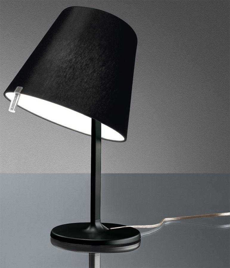 ARTEMIDE LAMPADA MELAMPO NOTTE NERO