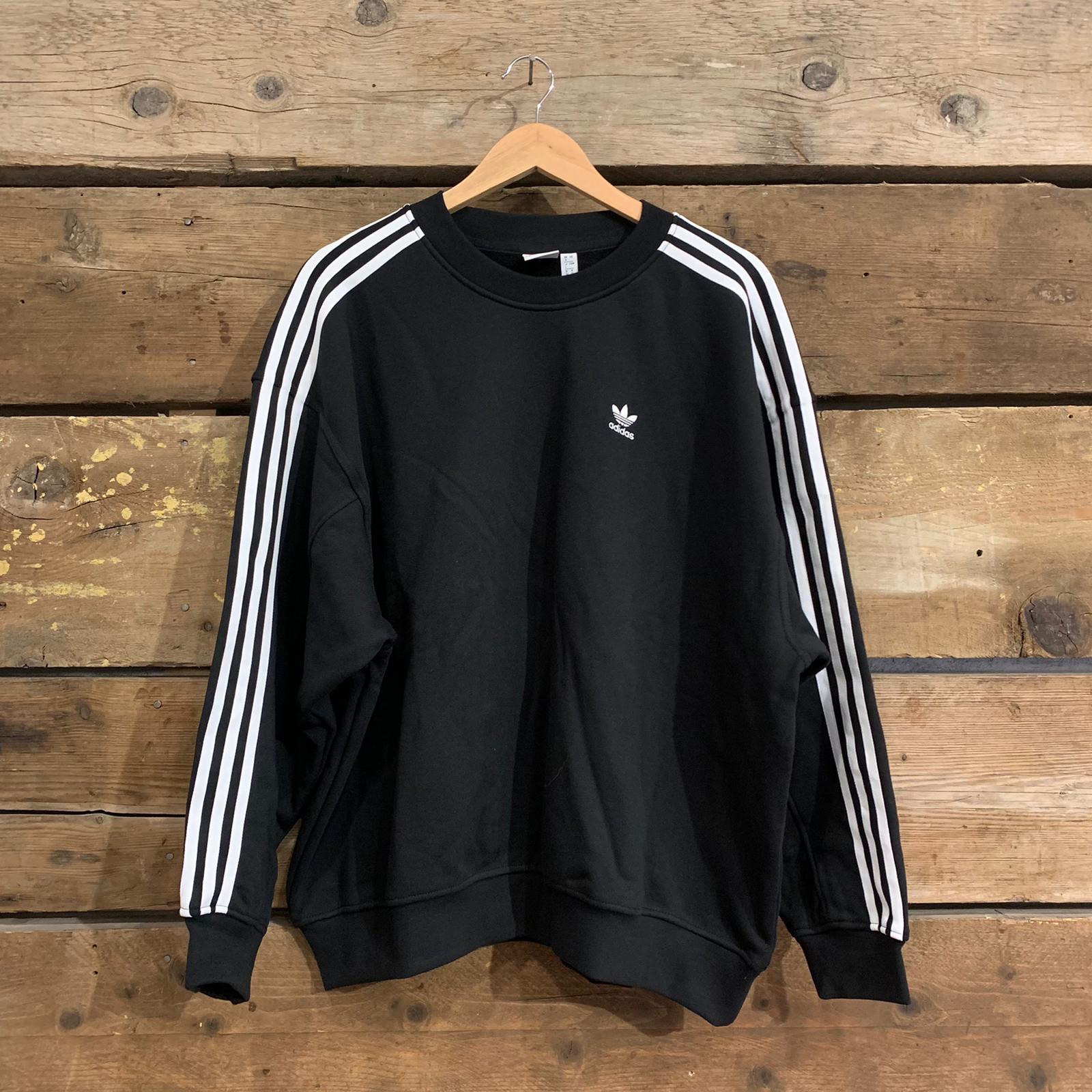 Felpa Adidas Originals OS Sweatshirt Nera e Bianca