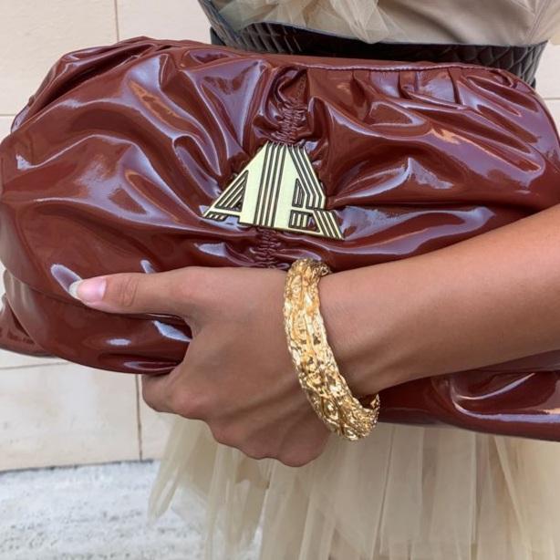 Bracciale oro lavorato Francesca Bianchi Design