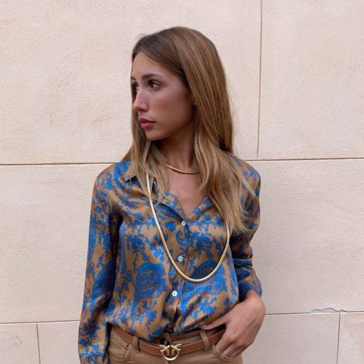 Collana lunga oro Francesca Bianchi Design