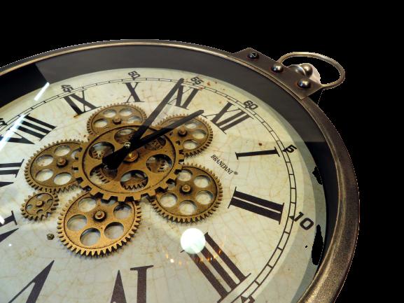 Orologio meccanismi a vista Hora