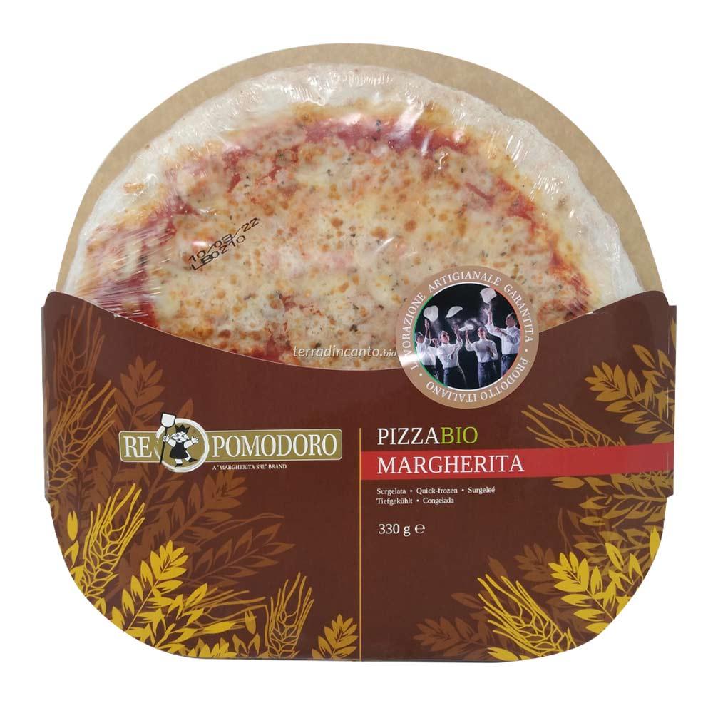 Pizza Margherita Bio Surgelata 330 gr