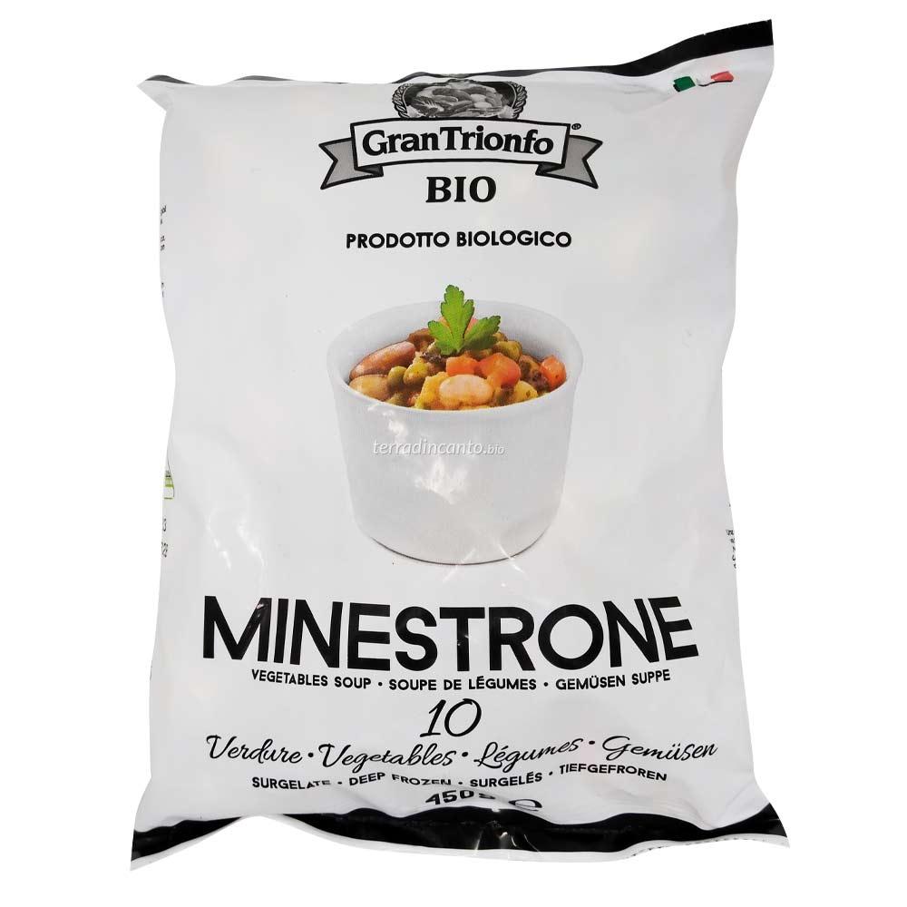 Minestrone Bio Surgelato 450 gr