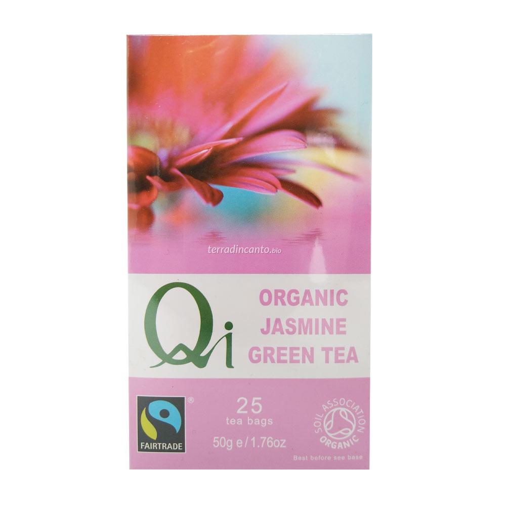Tè verde cinese al gelsomino QI 50g