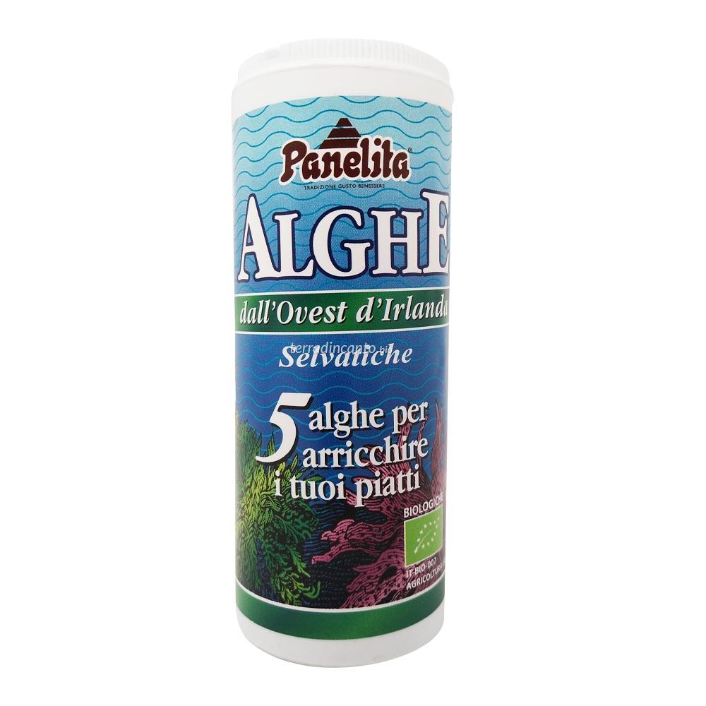Mix di Alghe Selvatiche in Polvere 40gr Panelita