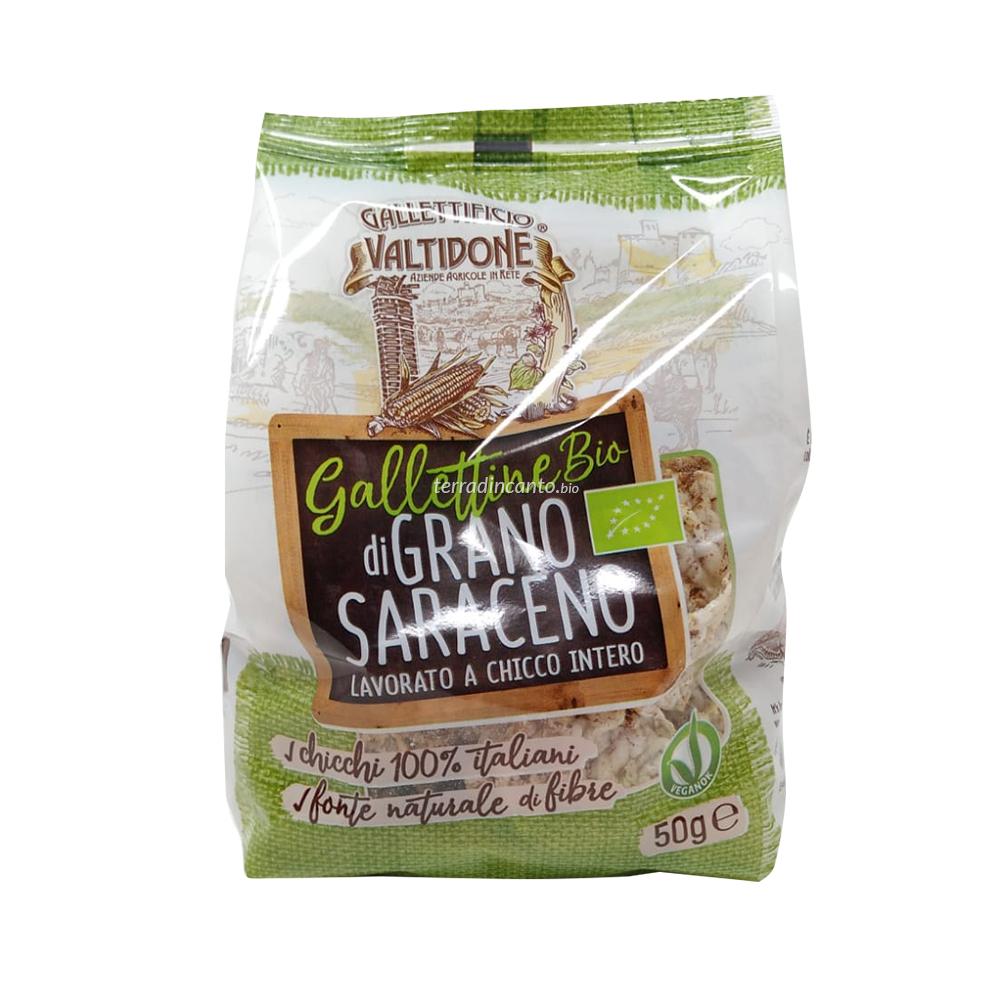 Mini Gallette 100% Grano Saraceno 50 gr Valtidone