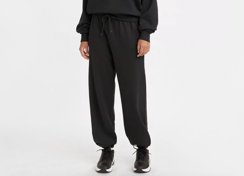 Pantalone della tuta unisex LEVI'S WFH SWEATPANTS BLACK