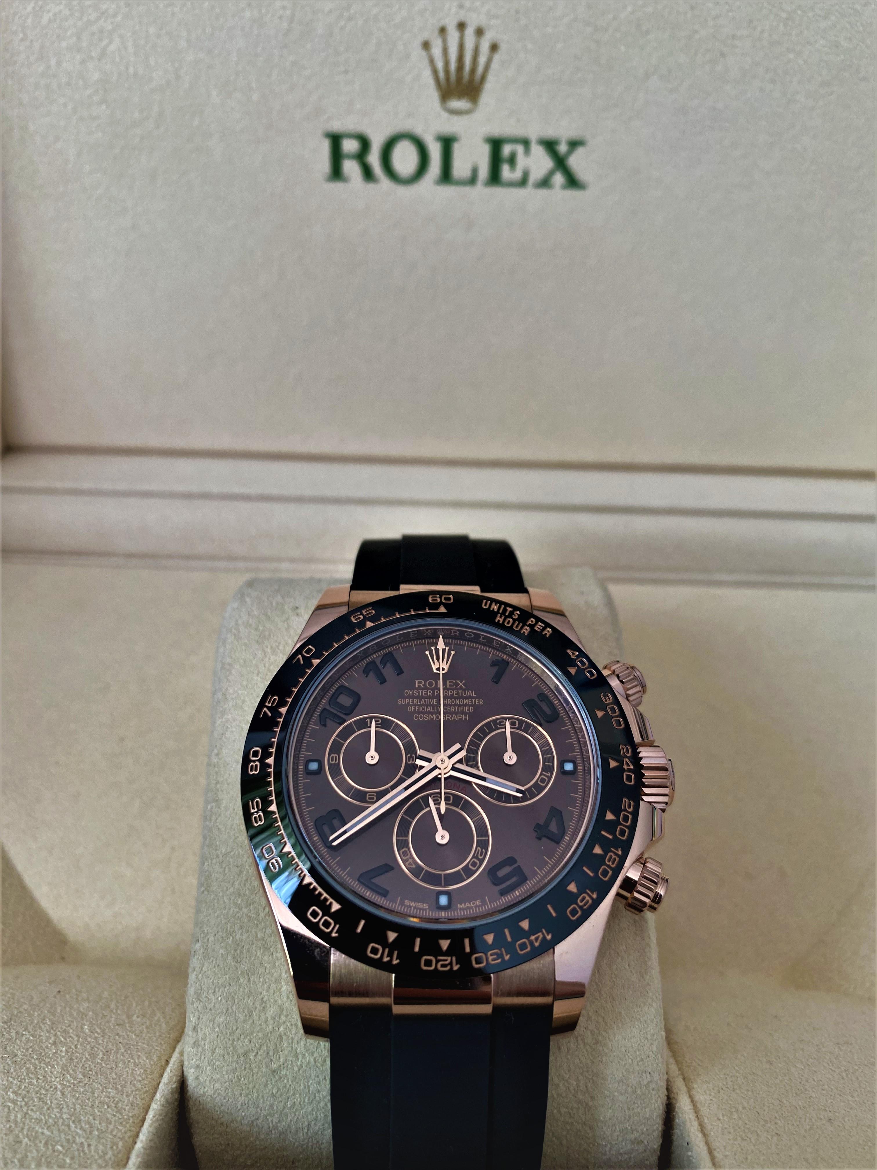 Orologio mai indossato Rolex Daytona