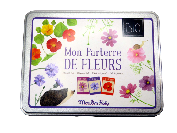 Kit per la coltivazione di fiori