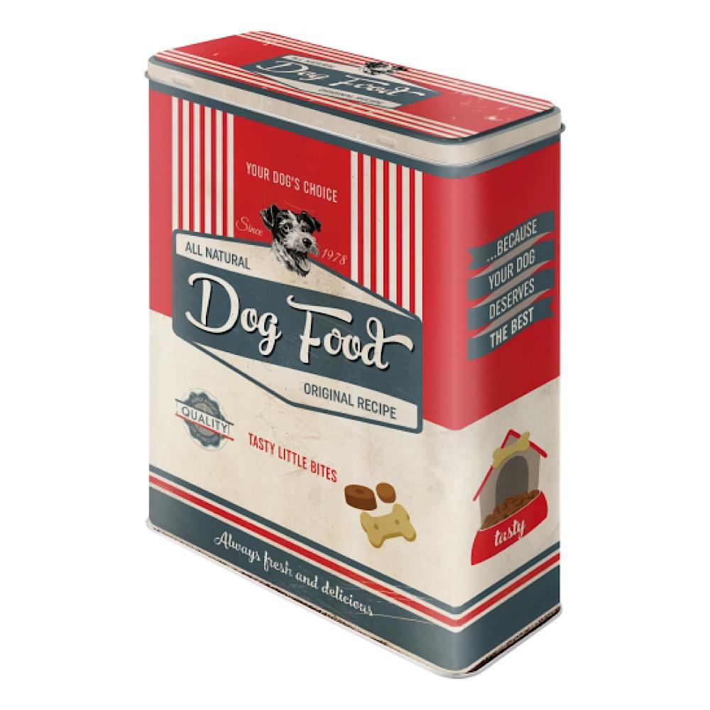Scatola XL Dog food di latta uso alimentare