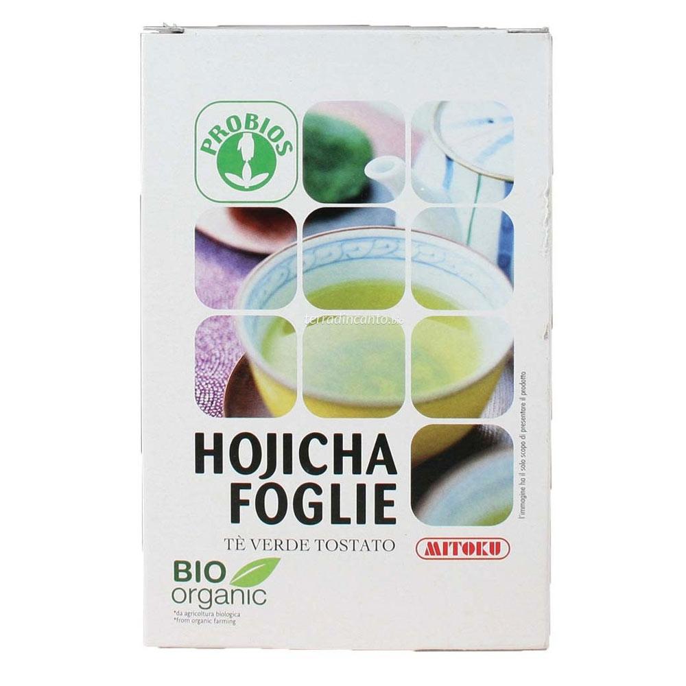 THE HOJICHA FOGLIE - in scatola  80g  MITOKU