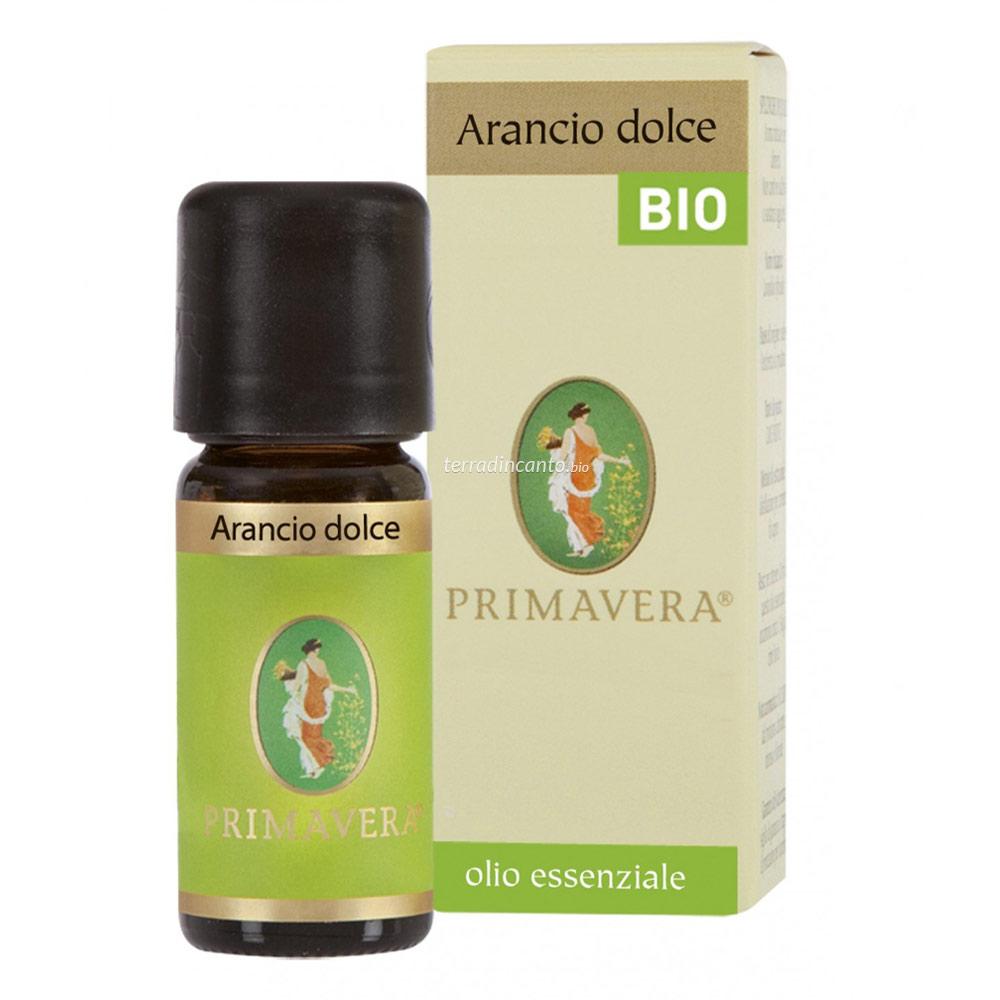 ARANCIO DOLCE BIO OLIO ESSENZIALE 10 ml    FLORA