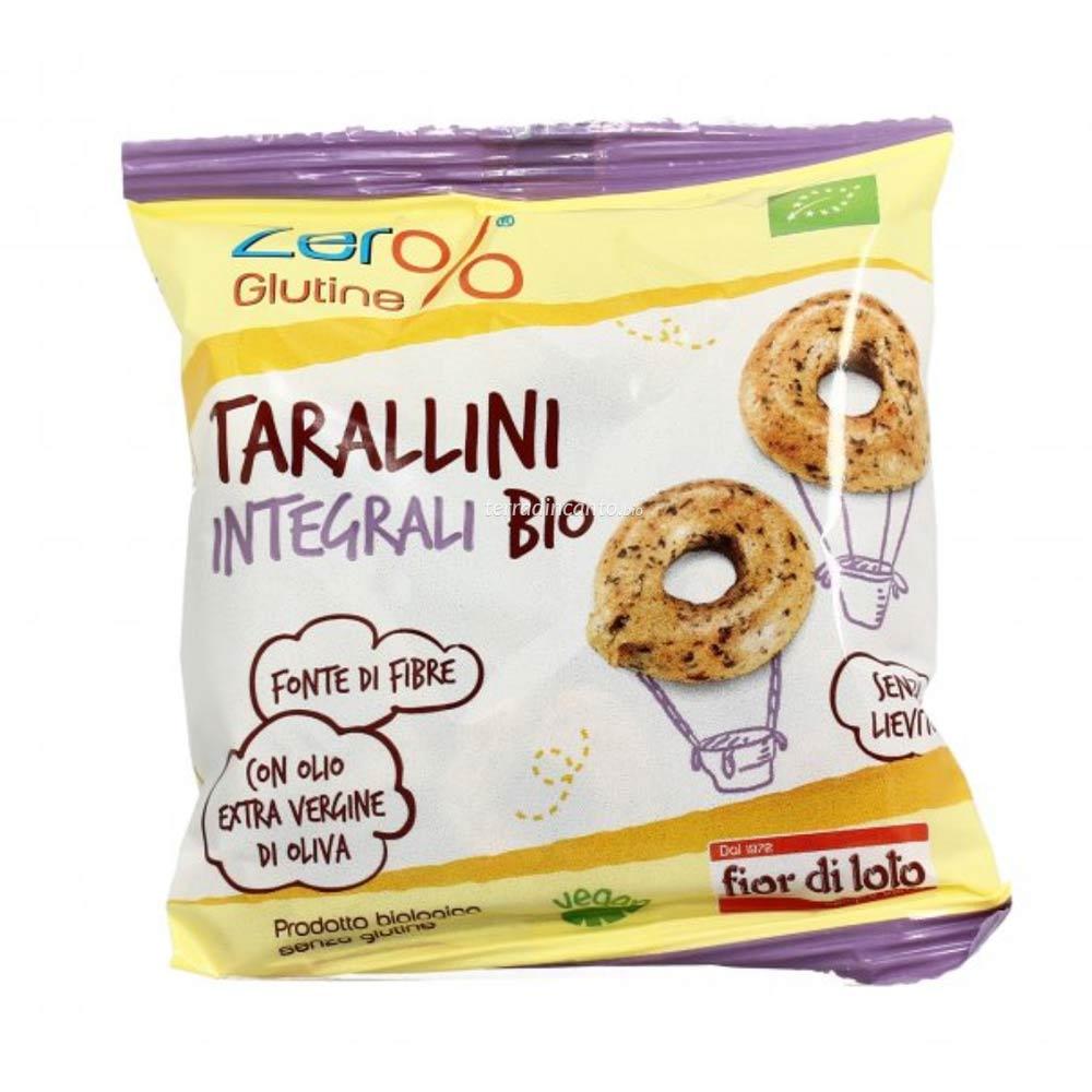 Tarallini di grano saraceno Zer%glutine