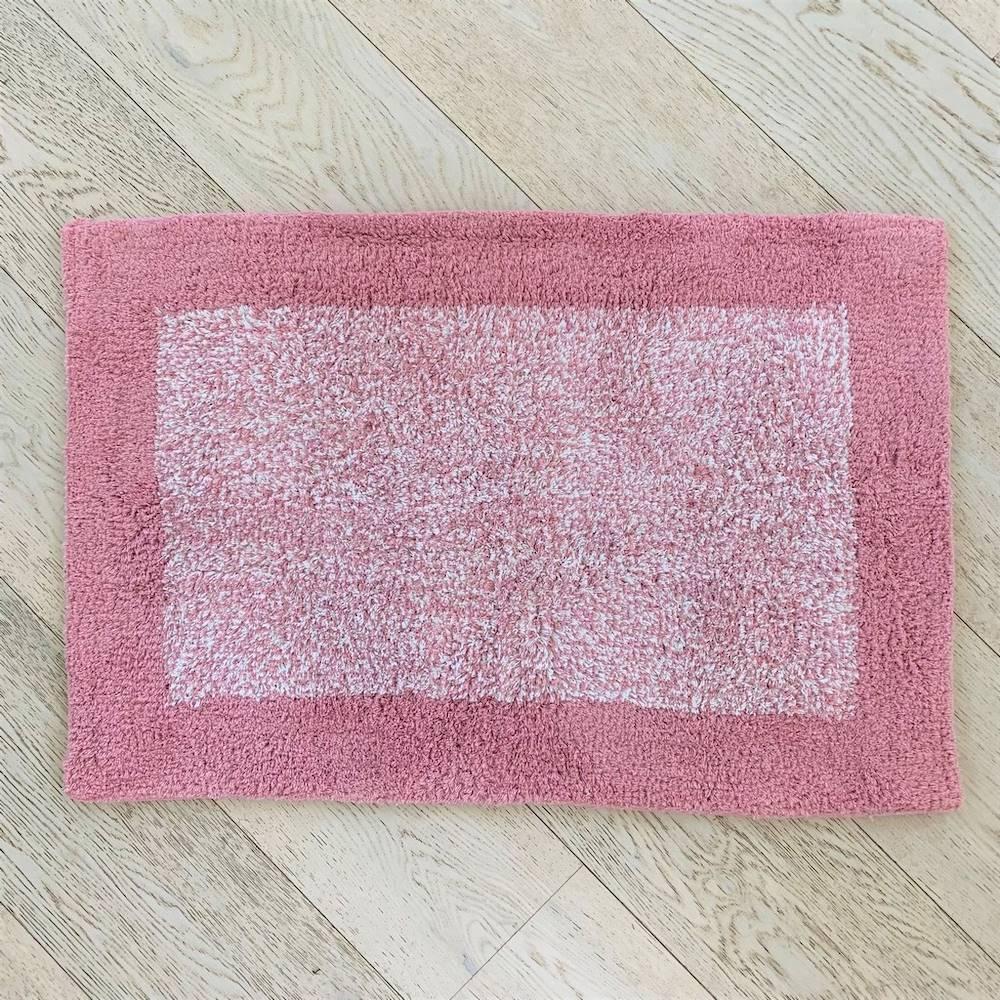 Tappeto Sale e pepe rosa