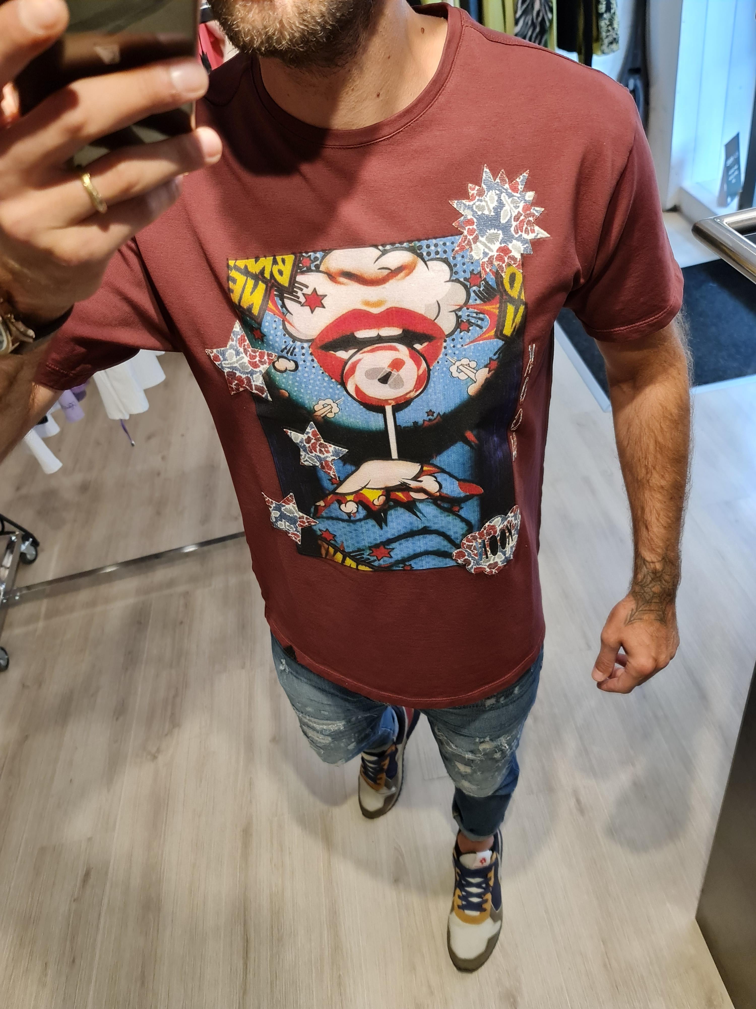 T shirt vinaccio